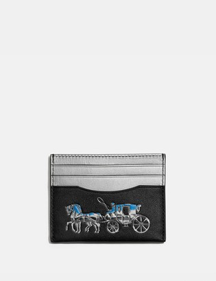 Coach Card Case With Horse And Carriage