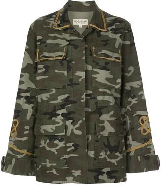 Nili Lotan Camouflage Print Jacket