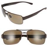 BOSS Men's '0801/s' 63Mm Sunglasses - Brown