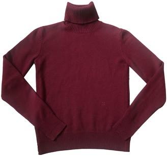 Celine Burgundy Cashmere Knitwear