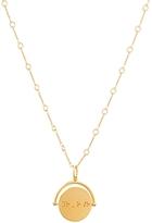 Lulu DK Believe Charm Spinner Pendant Necklace, 18