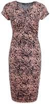 Stine Goya BRUSH Shift dress pink