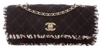 Chanel Tweed E/W Flap Bag