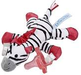 Dr Browns Dr. Brown's Lovey with Pink One-Piece Silicone Pacifier, Zebra by Dr. Brown's