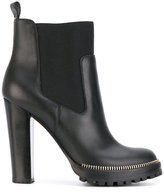 Sergio Rossi high heeled ankle boots