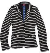 Merona Women's Double Knit Stripe Blazer - Stripes
