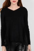 Molly Bracken Fringe Detail Sweater