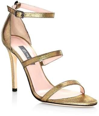 Sarah Jessica Parker Halo Strappy Stiletto Heels