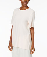 Eileen Fisher Silk Boxy Top