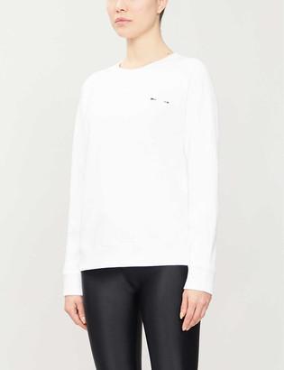 The Upside Bondi embroidered cotton-jersey sweatshirt