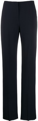 Giorgio Armani High-Rise Straight Leg Trousers