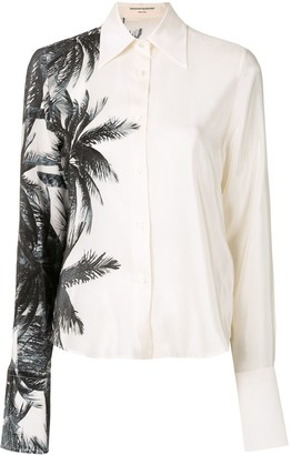Ermanno Scervino Palm Tree Shirt