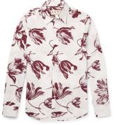Marni - Floral-print Cotton-poplin Shirt