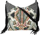Love Stitch Tapestry Fringe Bag