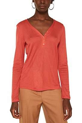 Esprit Women's 010eo1k305 Long Sleeve Top,Medium