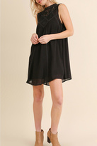 Umgee USA Sleeveless Lace Dress