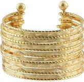 Textured Polished Cuff Bracelet