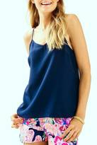 Lilly Pulitzer Dusk Silk Tank Top