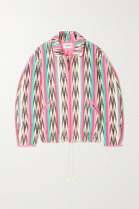 Isabel Marant Etoile - Iaustey Printed Cotton-canvas Jacket - Pink