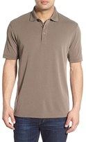Bugatchi Men's Short Sleeve Polynosic Polo