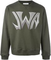 J.W.Anderson logo print sweatshirt