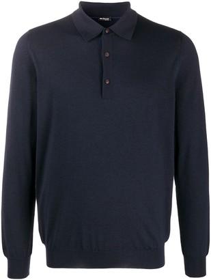Kiton Relaxed Polo Sweater