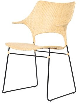 Bungalow Rose Zen Dining Chair Color: Natural