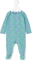Stella McCartney crocodile print pyjama - kids - Cotton - 3 mth