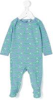 Stella McCartney crocodile print pyjama - kids - Cotton - 9 mth