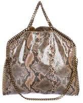 Stella McCartney Iridescent Fold-Over Falabella Tote