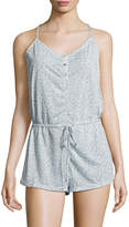 C&C California Women's T-Back Buttoned Romper