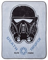 """Star Wars Rogue One A Story® Throw Blanket (50""""x60"""") Gray"""