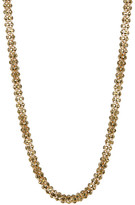 Betsey Johnson Crystal Rope Magnetic Necklace