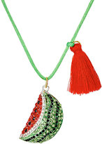 Little Lux Watermelon Charm Necklace