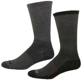Dickies Men's Contrast Sole 2-Pack Crew Socks
