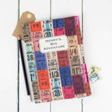 Grace & Favour Home Personalised Travel Journal