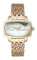 Ted Baker Women's TE4023 Ted-Ted Analog Silver Dial Watch