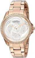 Bulova Women's Quartz Stainless Steel Casual Watch, Color:Rose Gold-Toned (Model: 44L233)