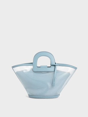 Charles & Keith Mesh Trapeze Bag