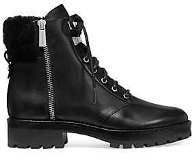 MICHAEL Michael Kors Women's Rosario Side Zip Leather Boots