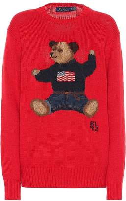 Polo Ralph Lauren Embroidered cotton and linen sweater