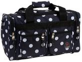 Rockland Bel-Air Black Dot 18-inch Carry-on Tote / Duffel Bag