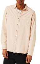 Topman Washed Twill Shirt