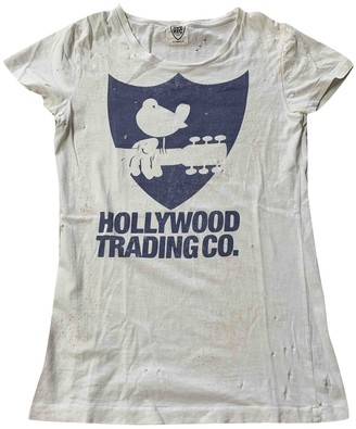 HTC White Cotton Top for Women
