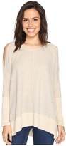 Culture Phit Elise Long Sleeve Top with Open Shoulder