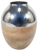 "Threshold 14"" Gold Metallic Vase"