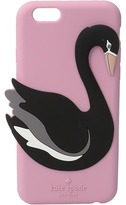 Kate Spade Silicone Swan Phone Case for iPhone 6