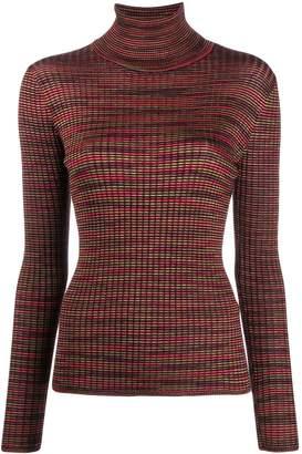 M Missoni striped knit jumper