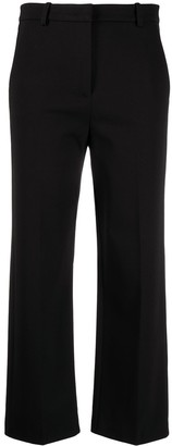 Pinko Cropped Straight-Fit Trousers