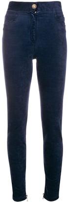 Balmain high-waist skinny trousers